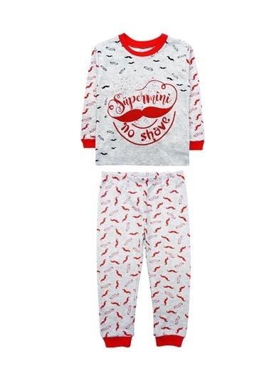 By Leyal For Kids Pijama Takım Gri